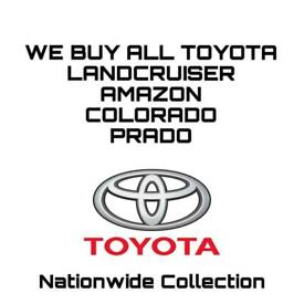 WE PURCHASE ALL TOYOTA LAND CRUISERS. ANY YEAR AND MODEL