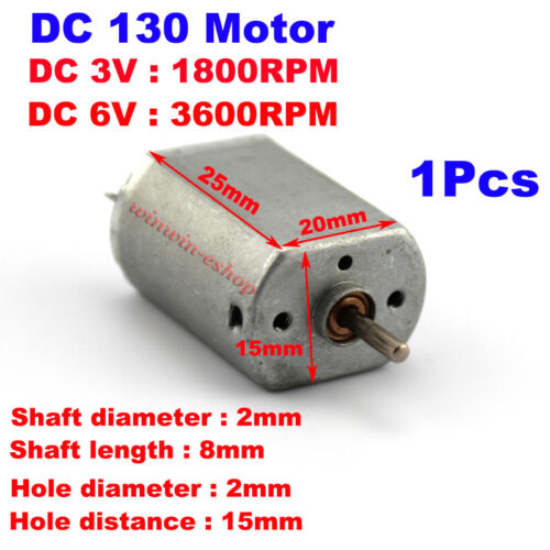 FF-030PB Micro Worm Gear Shaft Small Mini 030 Motor Laser Head Motor Toy Motor
