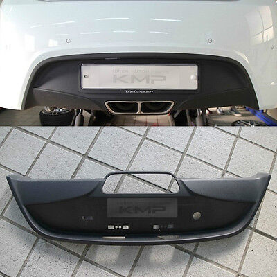 OEM Genuine Parts Rear Bumper Diffuser Matt Black for HYUNDAI 2011-2017 Veloster