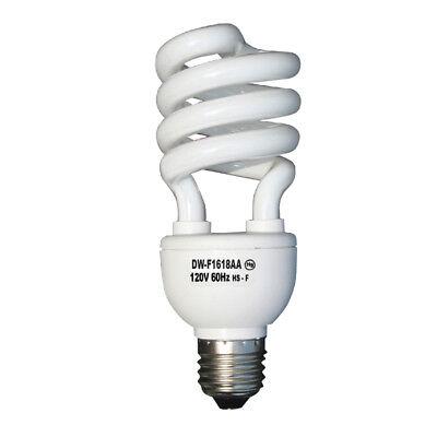 3 Pc Daylight Light Bulb Energy 75 Watts White Compact Fluorescent 1140 Lumens Daylight Compact Fluorescent Light Bulb