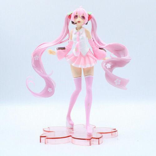 Hatsune Miku Sakura VOCALOID Pink Cherry Blossom Dress Action Figure