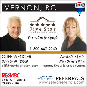 Are looking to list or buy in the North Okanagan?
