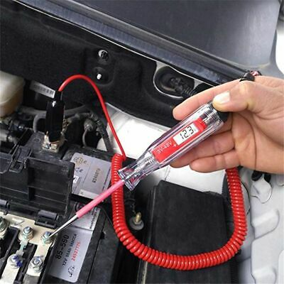 Digital Electric Circuit Tester Car Boat Trailer Rv Motorcycle Test Light 3v 12v