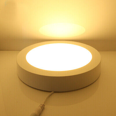 Surface Mounted LED Panel Light 6W Round Ceiling Downlights Wall Lamp Warm Lamp 6 White Ceiling Mounts