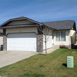Free May rent-Main Floor-Okotoks-includes util and Double Garage