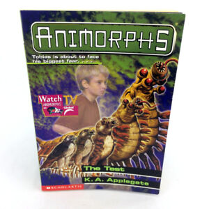 Animorphs Book 43 The Test Scholastic First Edition Vintage 2000