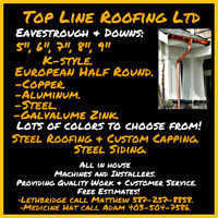 TOP LINE ROOFING LTD. Now in Lethbridge!
