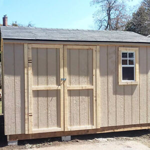 All Wood Backyard Storage Sheds - Any Size - Great Prices