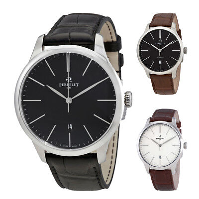 Perrelet First Class Automatic Mens Watch A1073 - Choose color