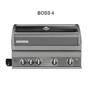 Matador Boss 4 Burner Built in BBQ with Hot Plate and Grill Mill Park Whittlesea Area Preview