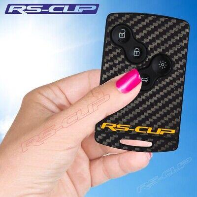 2OLD Sticker carte RENAULT Carbone logo jaune RS decal Clio 4 Megane 3 Captur