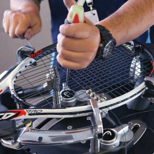 Tennis racquet stringing (money back if not satisfied)
