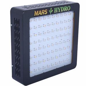 Panneau LED Mars hydro II 400 LED (Veg Bloom) et Mars 300 (veg)