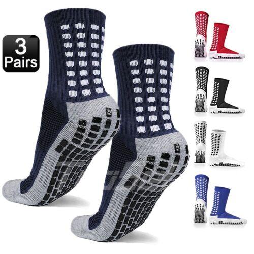 3 pairs sport socks anti slip w