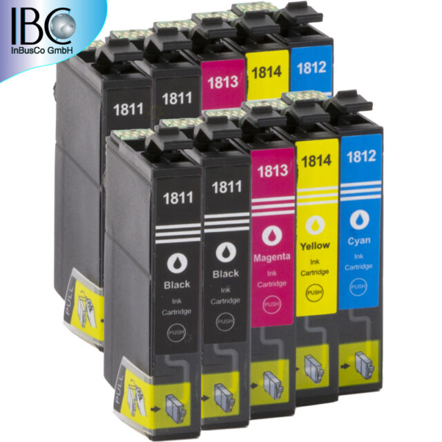10x Ink for Epson Expression Home XP-312, XP-313, XP-302, XP-305 new Cartridges