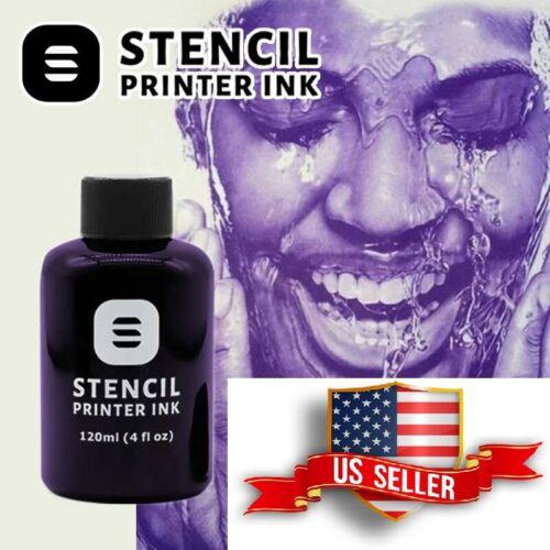 Tattoo Stencil Ink for EPSON Ecotank Printer Stencil Transfer 4oz Bottle