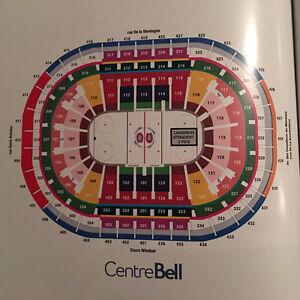 Billet demi-saison des Canadiens club Desjardin 2016-2017 West Island Greater Montréal image 3