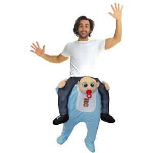 FUNNY ADULT HALLOWEEN COSTUME - BABY RIDE-ON - ONLY WORE ONCE