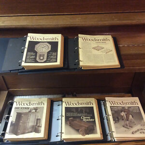 Woodsmith Woodworking Manuals