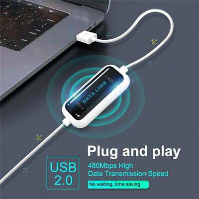 USB Data Transfer Cable PC to PC Online Link File Transmission For...