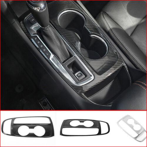 Fit for Chevrolet Equinox 2018-2020 Carbon Fiber Steering Wheel Sheet Cover Trim