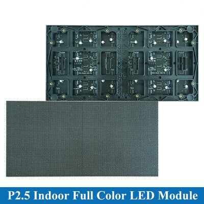 12864 Pixels Led Matrix Rgb P2.5 Indoor Full Color Led Display Module 320160mm