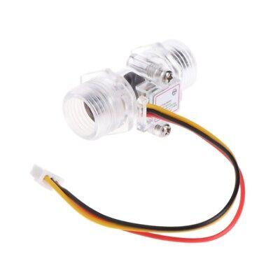 Water Flow Sensor Switch G12 Hall Effect Meter Control Dc 5-15v