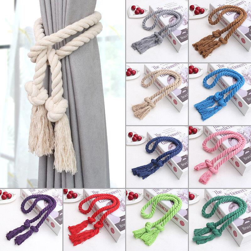 1PC Curtain Tiebacks Tie Backs Tassel Rope Living Room Bedroom Decoration Health