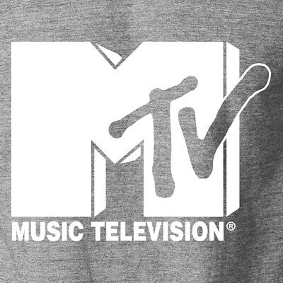 MTV Classic Logo T-Shirt Music Video Television TV Channel 1980s 1990s S-6XL Tee 1980 Music Video