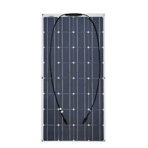 2X 100w Solar Panel semi flexible 200W solar system Photovoltaic