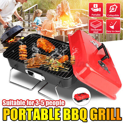 Table Portable Gas Barbeque Barbecue BBQ Cooker Stove Grill Picnic Beach Holiday