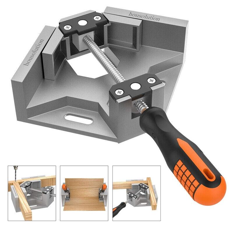 Right Angle Clamp 90Degree Frame Corner Holder Single Handle Wood Metal Welding - $38.99