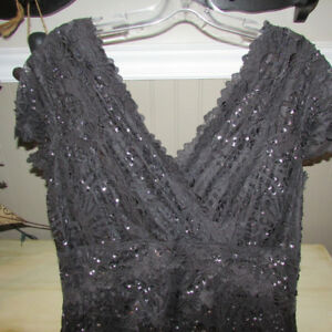 LE CHATEAU DRESS WITH LACEY BLING