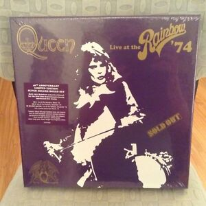 QUEEN - LIVE AT THE RAINBOW '74 - NEW BOXED SET - $85 (Vancouver