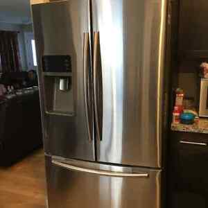 Stainless Steel French Door Refrigerator-28.5 cu ft