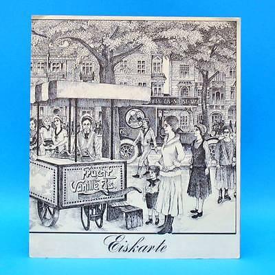 KaDeWe Restaurant Silberterrasse um 1980 | Speisenkarte Getränkekarte Eiskarte