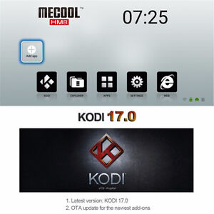Android TV boxes SALE PRICE $90 to Mar 26 X96, HM8 Kodi 16.1/ 17