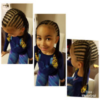 Braiding/ Cornrow - Children