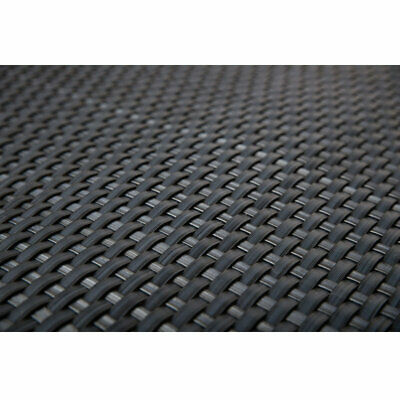 Artificial Rattan Weave Privacy Screening Balcony Fence Garden 1m x 20m Grey