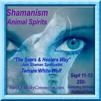 Shamanism & Animal Spirits with Tamare White-Wolf