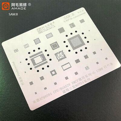 For Samsung Note 4 Apq8084 Cpu Ram Bga529 Bga Stencil Reballing Tin Pin Heating