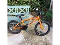 box bike, 12 months old only used twice, in perfect condition.