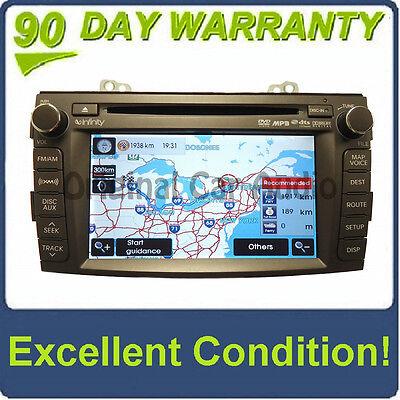 HYUNDAI Sonata Navigation GPS Satellite XM Radio AUX MP3 CD Player 96560-0A500
