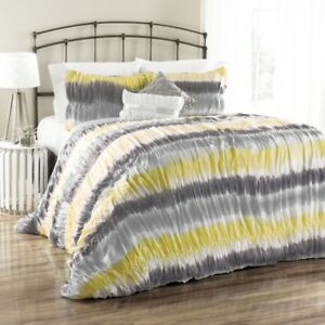 Lush Decor Bloomfield Tie Dye 5-Pc. Comforter Set - Full/Queen,