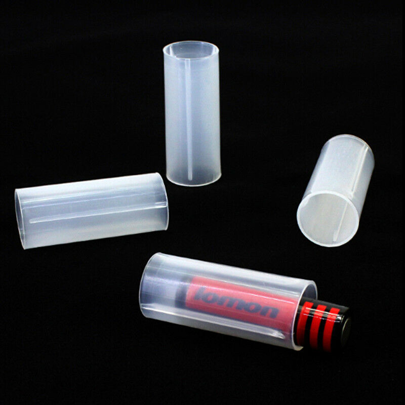 2Pcs 18650 to 26650 Battery Converter Case Sleeve Adapter Plastic SP