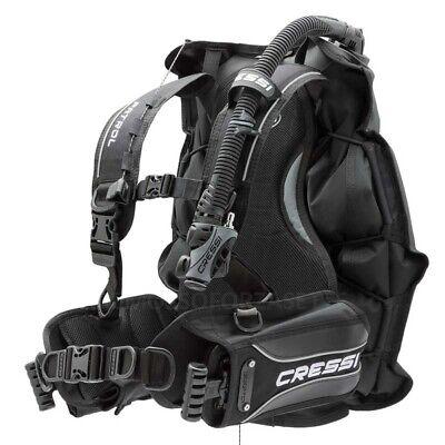 Gav Cressi Sub Patrol Jacket Con Tasche Porta Zavorra Bcd Vest