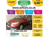 2013 RED HONDA CR-V 2.0 I-VTEC SE 4WD PETROL ESTATE CAR FINANCE FR £46 PW