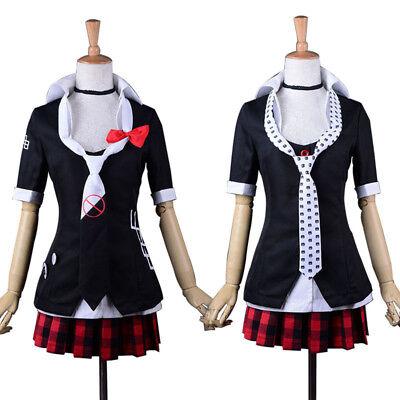 Uniform Suit Anime Danganronpa Cute Junko Enoshima Cosplay Costume Polyester](Anime Woman Costume)