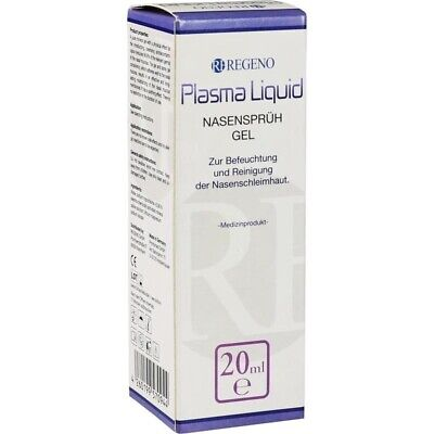PLASMA LIQUID Nasensprüh-Gel 20 ml PZN15559894