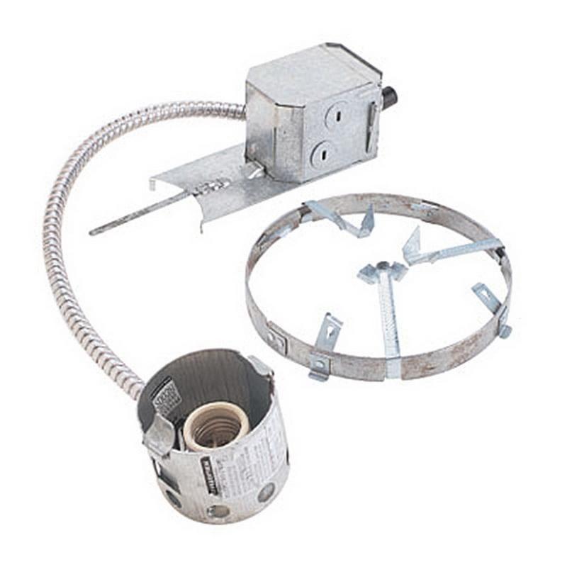 """Lightolier 2003R Non-IC 3-3/4"""" Remodeler Frame-In Kit Incandescent Lytecaster"""